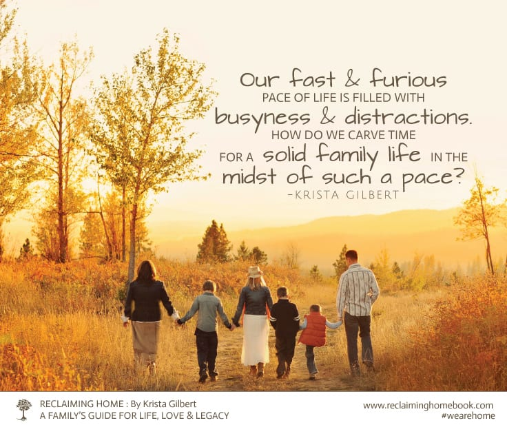 Love and Legacy Reclaiming Home The Family/'s Guide for Life